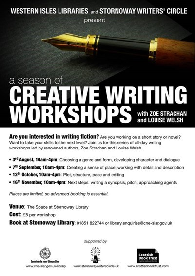 Creative Writing Workshops - with Zoe Strachan & Louise Welsh